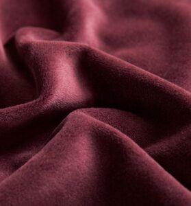 velvet red fabric